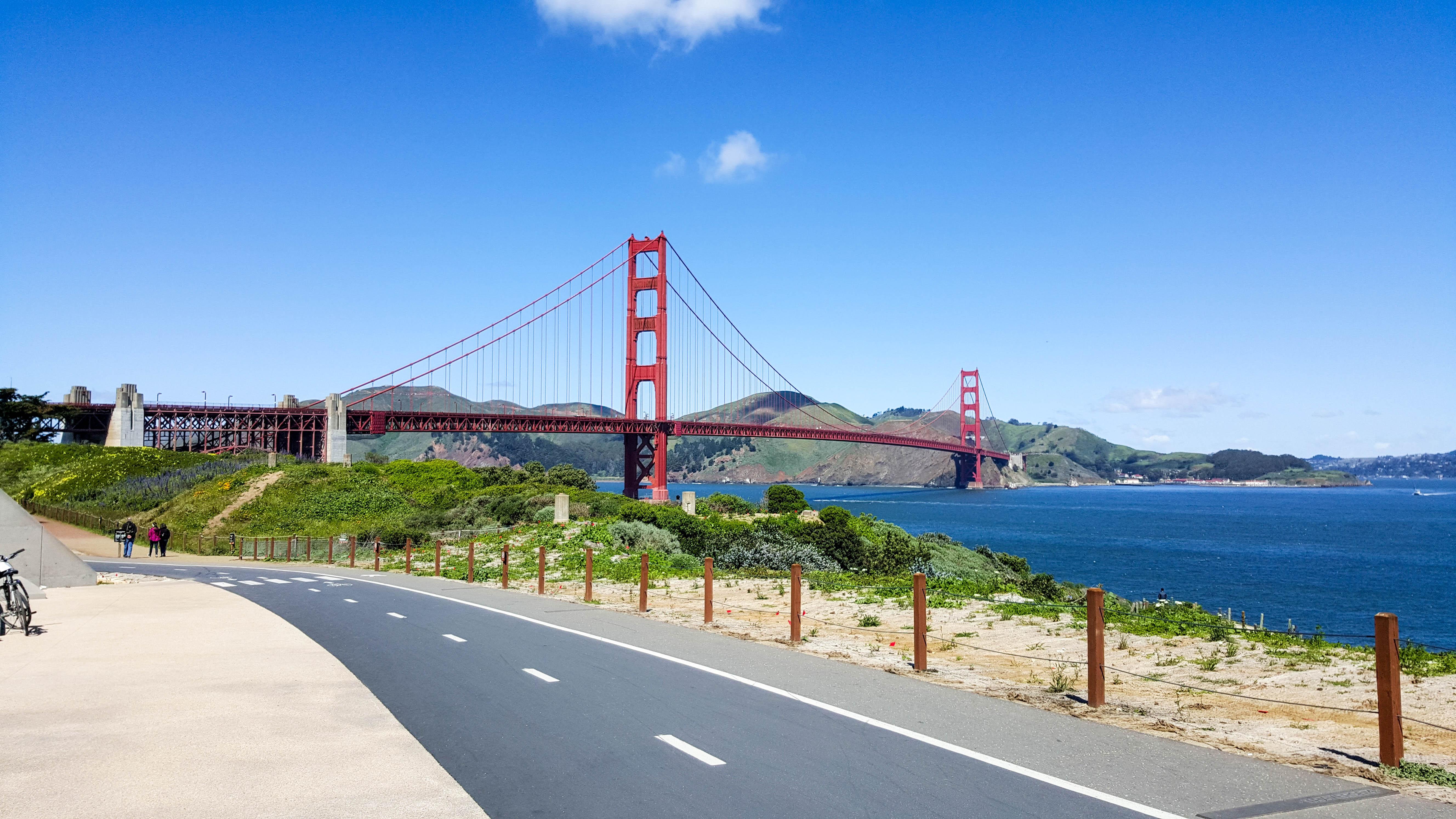 Golden Gate Bridge Sausalito Amp Tiburon By Bike Normal