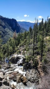 View from pull out on road to Yosemite Valley
